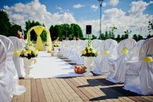 Свадебные тенденции в оформлении 2013